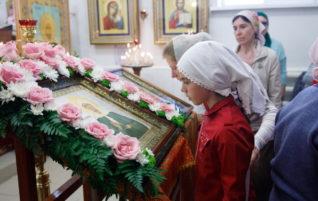 Всенощное бдение в храме Матроны Московской